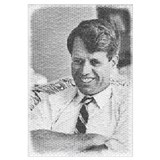 Photo mosaic: Robert F. Kennedy