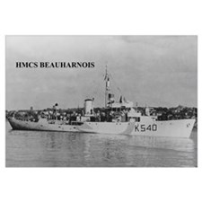 HMCS BEAUHARNOIS Photo 17 x 11