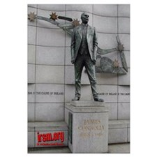 James Connolly Statue Print