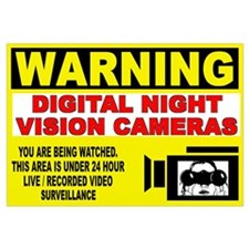 Warning Night Vision