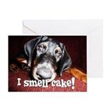 Birthday - Cute Doberman Puppy Greeting Card