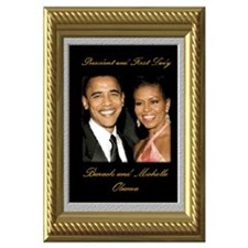 Cute Obama inauguration Wall Art