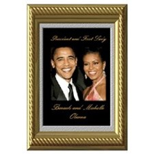 Cute 44th president Wall Art