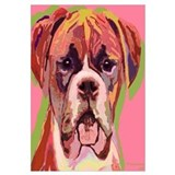 Boxer Dog , Image Size 16x16&quot;