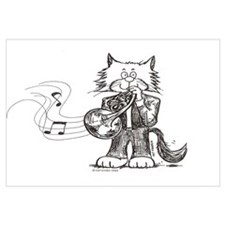 French Horn Cat