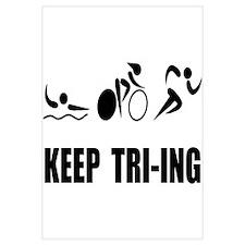 KEEP TRI-ING