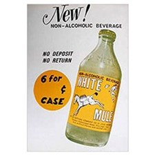Large White Mule Soft Drink