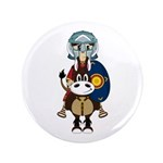 "Roman Gladiator on Horse 3.5"" Button (100 Pk)"