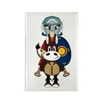 Roman Gladiator on Horse Magnet (10 Pk)