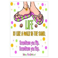 Life is like a walk in the sand