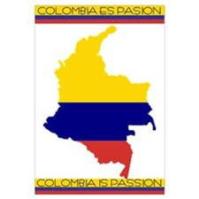 Colombia Is Passion, Colombia Es Pasion Wall Art