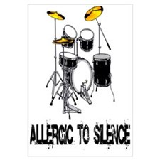 Allergic to silence drummer