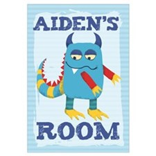 Aiden's ROOM Mallow Monster 16x20