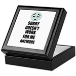 SORRY DOESN'T WORK FOR ME ANYMORE Keepsake Box