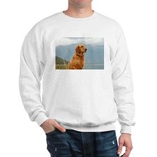 Golden Retriever Lake Sweatshirt