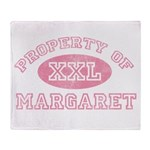 Property of Margaret Throw Blanket