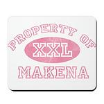 Property of Makena Mousepad
