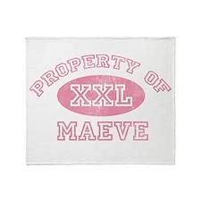 Property of Maeve Throw Blanket