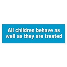 children... Bumper Bumper Sticker