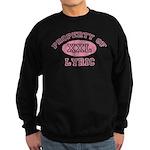 Property of Lyric Sweatshirt (dark)