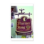 The Mariner King Inn sign 22x14 Wall Peel