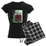 The Mariner King Inn sign Women's Dark Pajamas