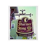 The Mariner King Inn sign Throw Blanket