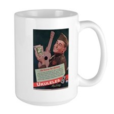 Ukuleles Satisfy! Coffee Mug