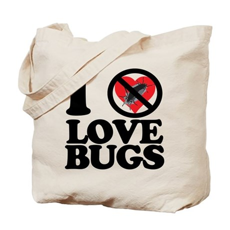 i hate lovebugs Tote Bag