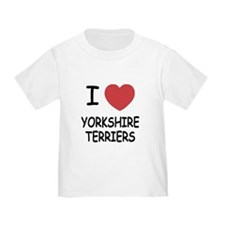 I heart yorkshire terriers T
