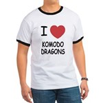 I heart komodo dragons Ringer T