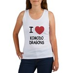 I heart komodo dragons Women's Tank Top