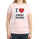 I heart komodo dragons Women's Light T-Shirt