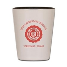 TAS Red Shot Glass