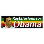 Rastafarians for Obama bumper sticker