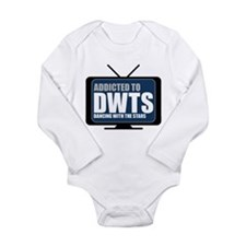 Addicted to DWTS Long Sleeve Infant Bodysuit