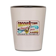 Groove-Time Smooth Jazz Shot Glass