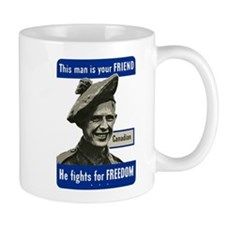 Cute Canadian military Mug