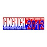 Anti-Gingrich President 2012 21x7 Wall Peel