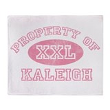 Property of Kaleigh Throw Blanket