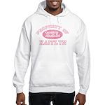 Property of Kaitlyn Hooded Sweatshirt