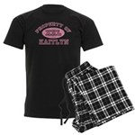 Property of Kaitlyn Men's Dark Pajamas