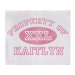 Property of Kaitlyn Throw Blanket