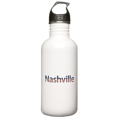 Nashville Stars and Stripes Stainless Water Bottle