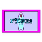 Fish Rectangle Sticker