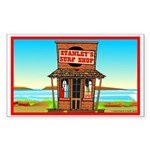 Stanley's Shack Rectangle Sticker