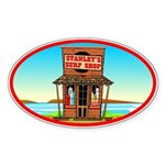 Stanley's Shack Oval Sticker