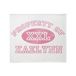 Property of Kaelynn Throw Blanket
