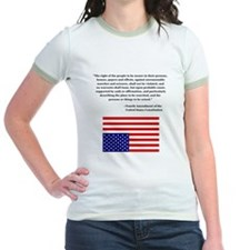 4th Amendment & Upside Down Flag T