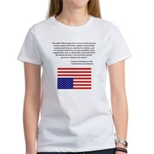 4th Amendment & Upside Down Flag Tee